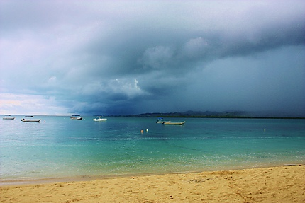 Orage sur les Iles Fidji