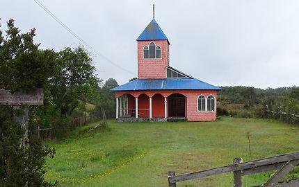 Petite chapelle sur l'Île de Chiloé