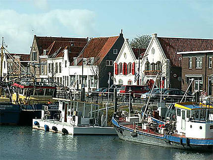 Port de pêche à Zierikzee en Zélande - Pays Bas