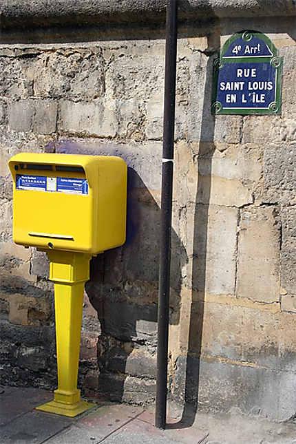 Boite Aux Lettres Ile Saint Louis 4eme Arrondissement Paris