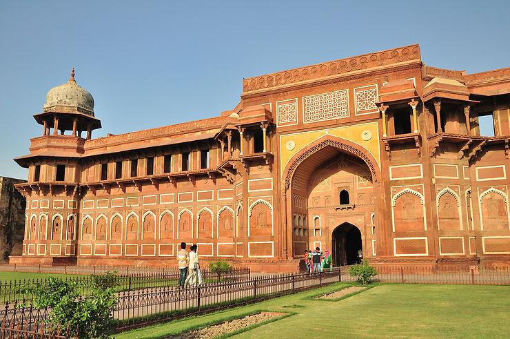 L'autre incontournable d'Agra : le Fort Rouge