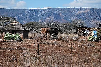 Habitations, est du Swaziland
