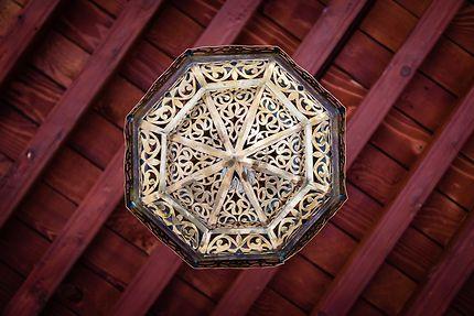 Alger - Palais des Raïs - Le lustre en fer forgé