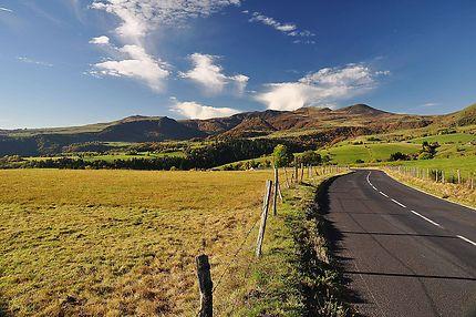 Route pour le Mont-Dore