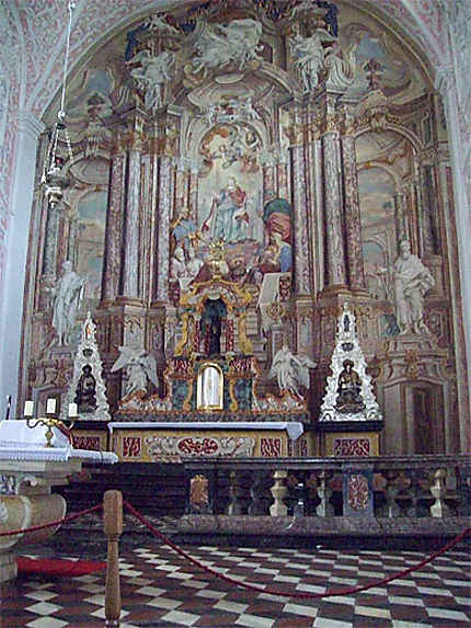 Maître-autel de l'église Sainte-Catherine