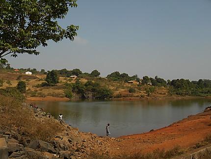 Le barrage de Dalaba