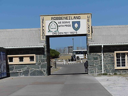 Entrée de Robben Island