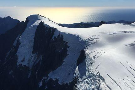 Fjordland vu du ciel