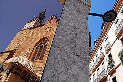 Reflet de la Cathédrale Saint Jean