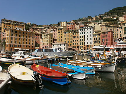 Port de Camogli, Italie