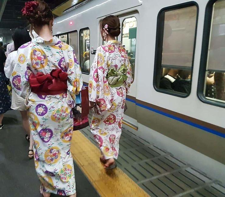 Choc de culture à Osaka, Japon