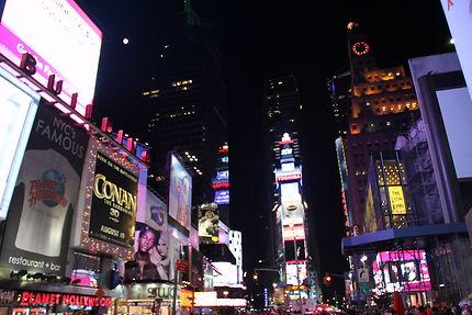 Publicités lumineuses à Times Square