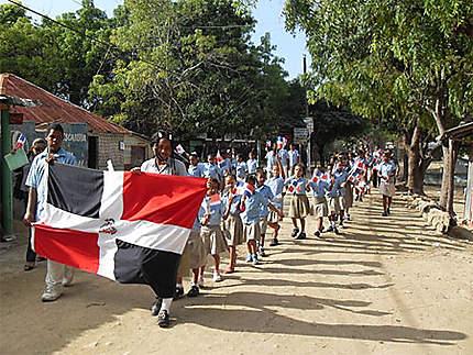 Fête nationale au village