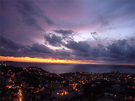 Sunset depuis Notre Dame de la Garde