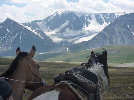 Voyage à cheval dans l'Altaï