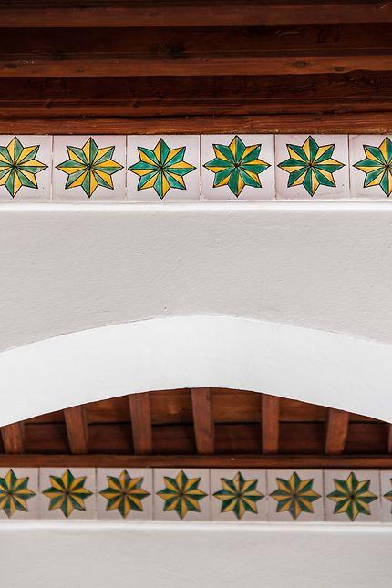 Alger - Palais des Raïs - Plafond étoilé