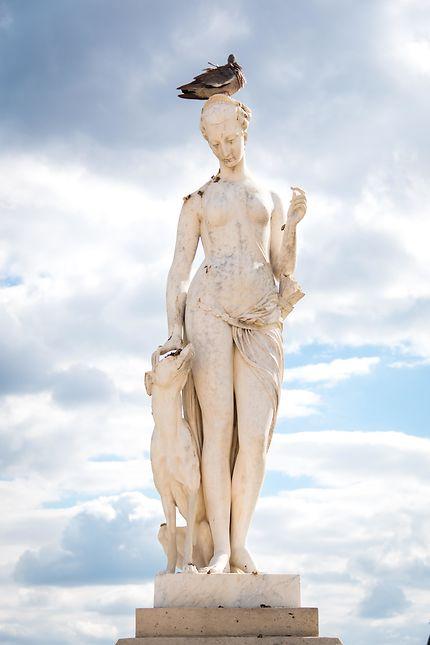 Diane de Louis Auguste Lévêque (1866), Paris
