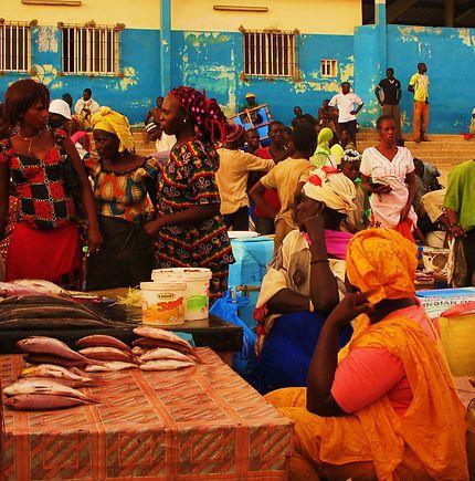Marché aux poissons de Mbour, Sénégal