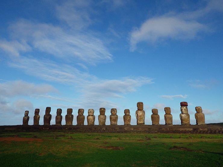 Moaï de Île de Pâques, Chili