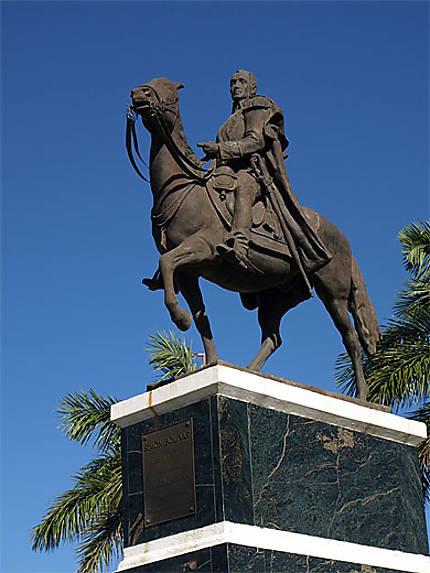 Statue de Simón Bolívar