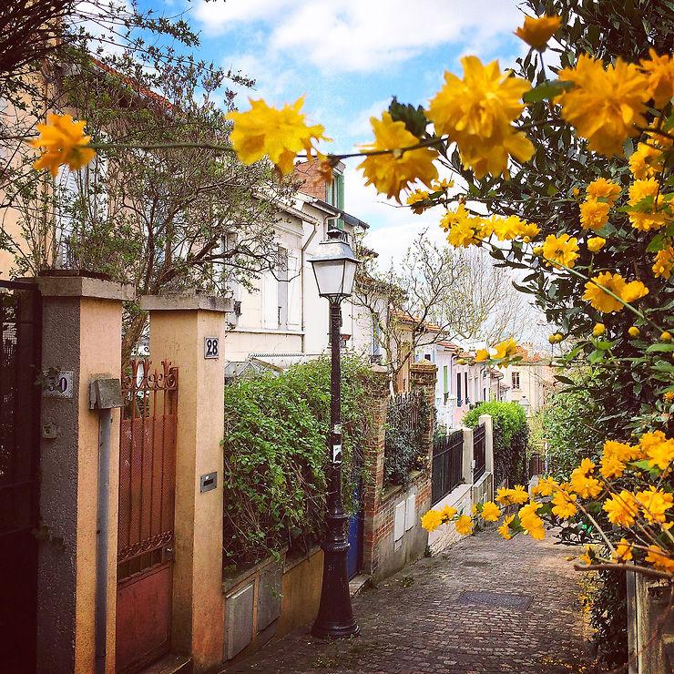 Découvrir le petit quartier de la Mouzaïa, au pied des Buttes-Chaumont.