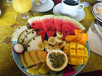 """Petit déjeuner """"tropical"""""""