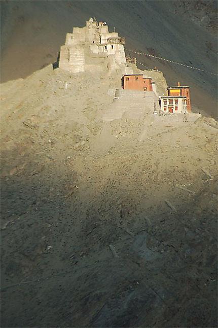 Coucher de soleil à Leh