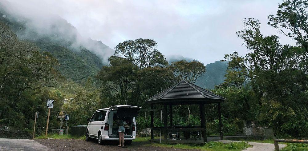 Le temps d'un week-end : la traversée d'Ouest en Est de La Réunion en van