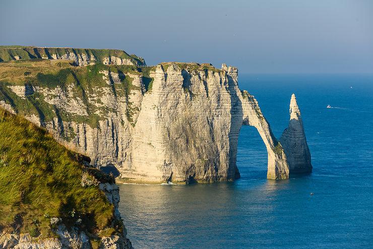 La véloroute du littoral de Normandie