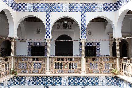 Alger - Palais des Raïs - Arcades au 1er étage