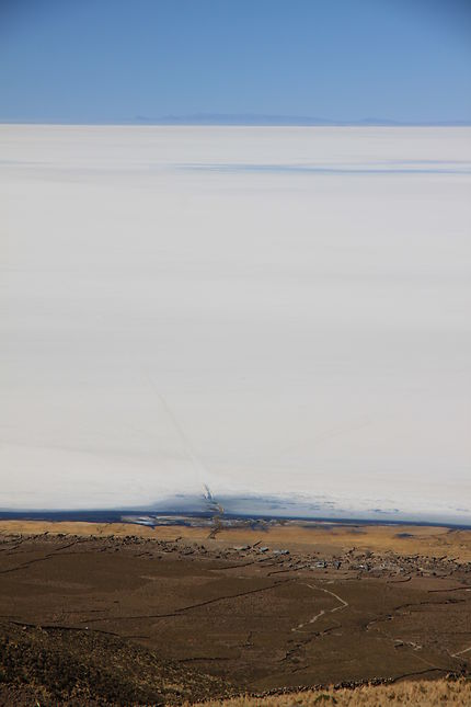 Vue sur le Salar d'Uyuni