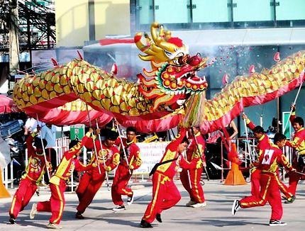 Nouvel an chinois, année du rat à Pattaya