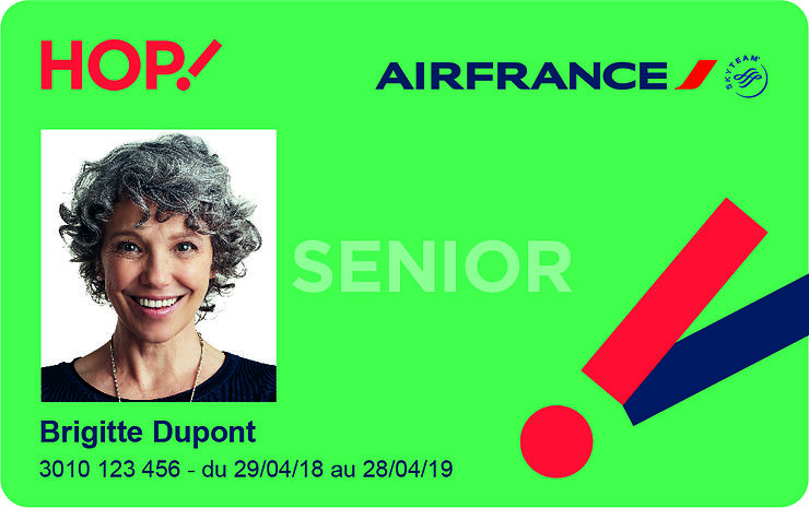 bon plan hop air france lance une carte senior offrant des r ductions. Black Bedroom Furniture Sets. Home Design Ideas