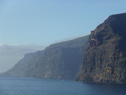 Impressionnantes falaises