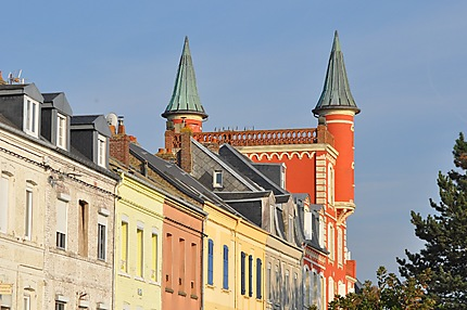 Façades : rue Pierre Guerlain