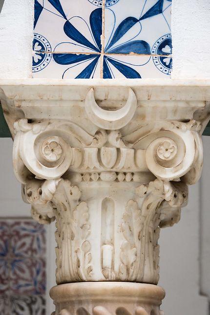 Alger - Palais des Raïs - Chapiteau en marbre