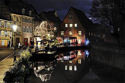 Petite Venise à Colmar en décembre