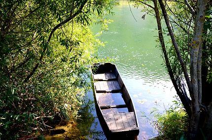 Barque sur le doubs