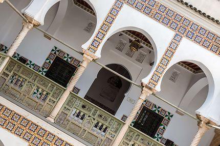 Alger - Palais des Raïs - Arcades et balustrade