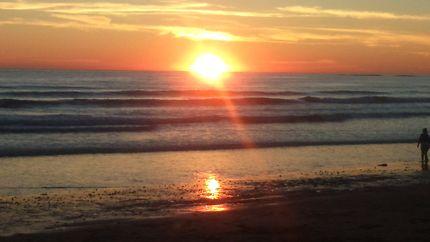Magnifique coucher de soleil vendéen
