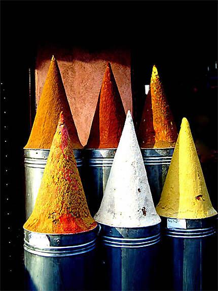 Cônes colorés