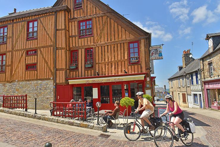 La Véloscénie et la Vélo Francette en Normandie
