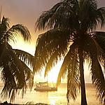 Coucher de soleil à Saint-Pierre