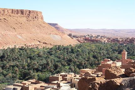 Oasis à Tineghir, Maroc