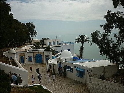 Vue plongeante de Sidi-Bou-Saïd sur la mer