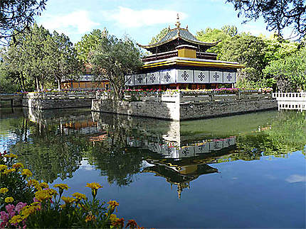 Norbulingka - Palais d'été des Dalais-Lama
