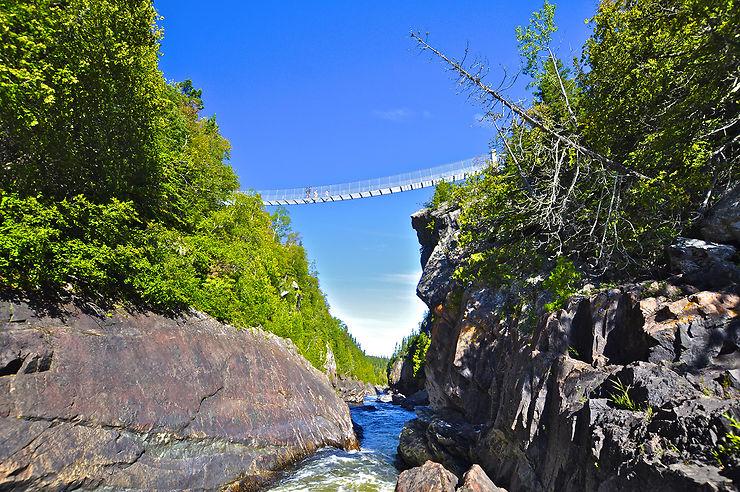 La Pukaskwa Coastal Trail, sur les bords du lac Supérieur