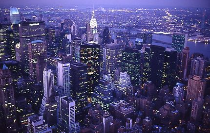 """""""MANHATTAN FROM EMPIRE STATE BUILDING 1989"""""""