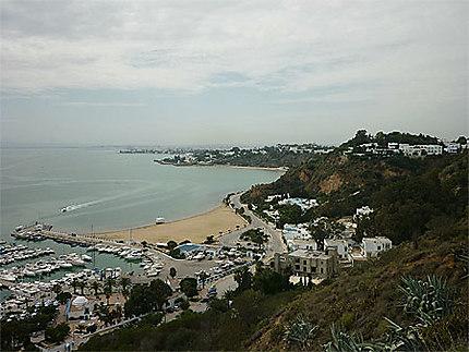 Port et plage de Sidi-Bou-Saïd