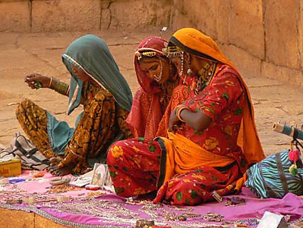 Musiciennes Rajasthani